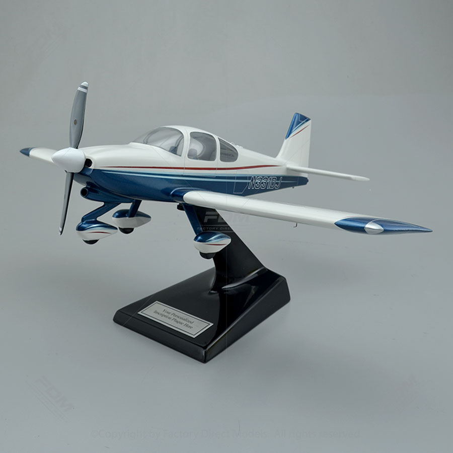 Vans Aircraft Rv 10 Model With Detailed Interior