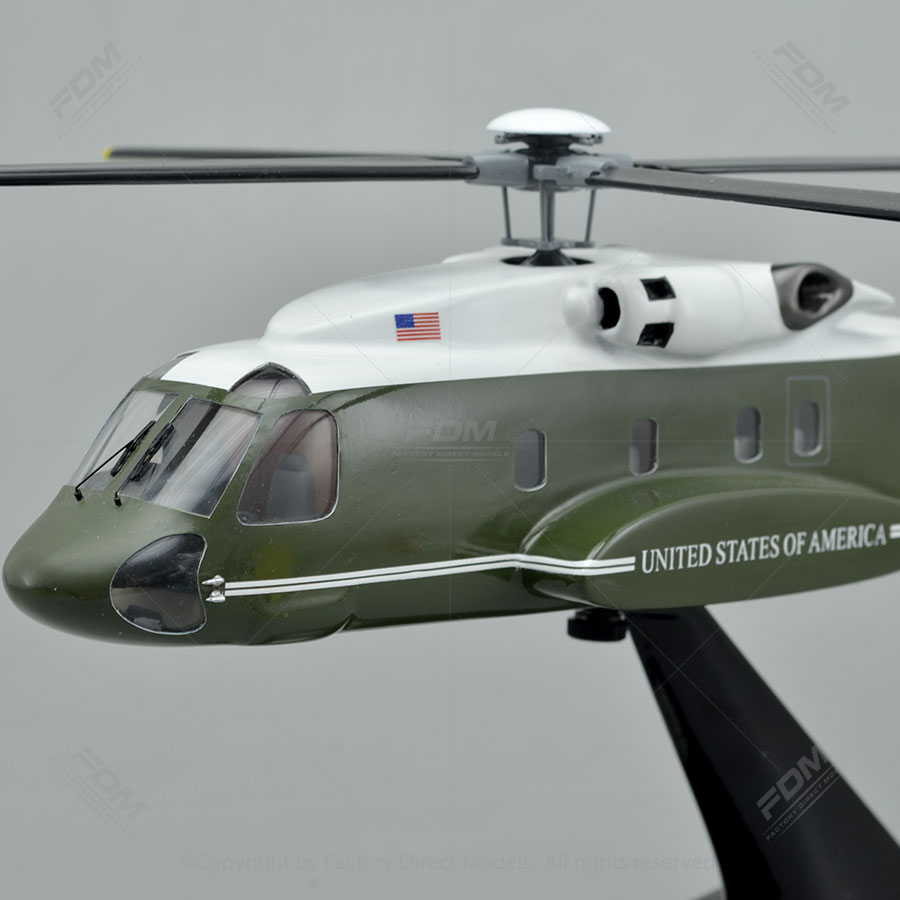 Lockheed Martin VH-92A Presidential Helicopter Model with
