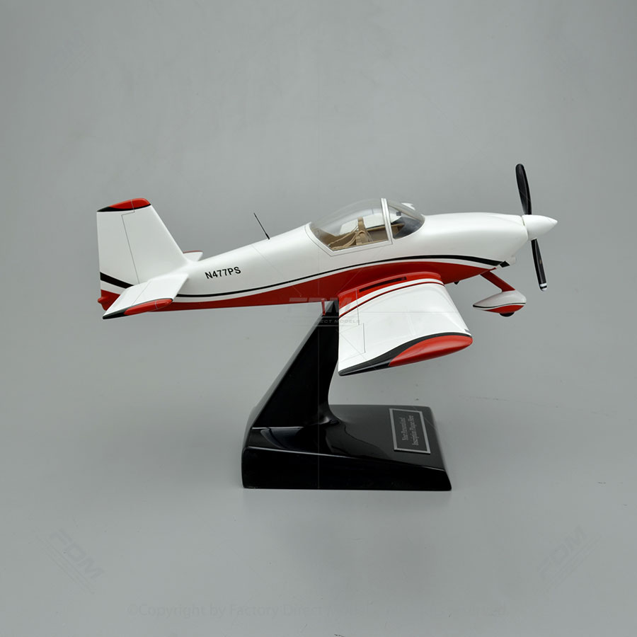 Van 39 S Aircraft Rv 9a Model With Detailed Interior
