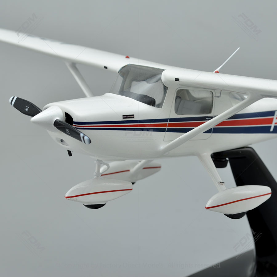 Cessna 152 Model with Detailed Interior | Factory Direct Models