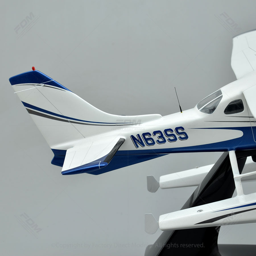 Cessna 206 Stationair Wooden Airplane Models | Factory