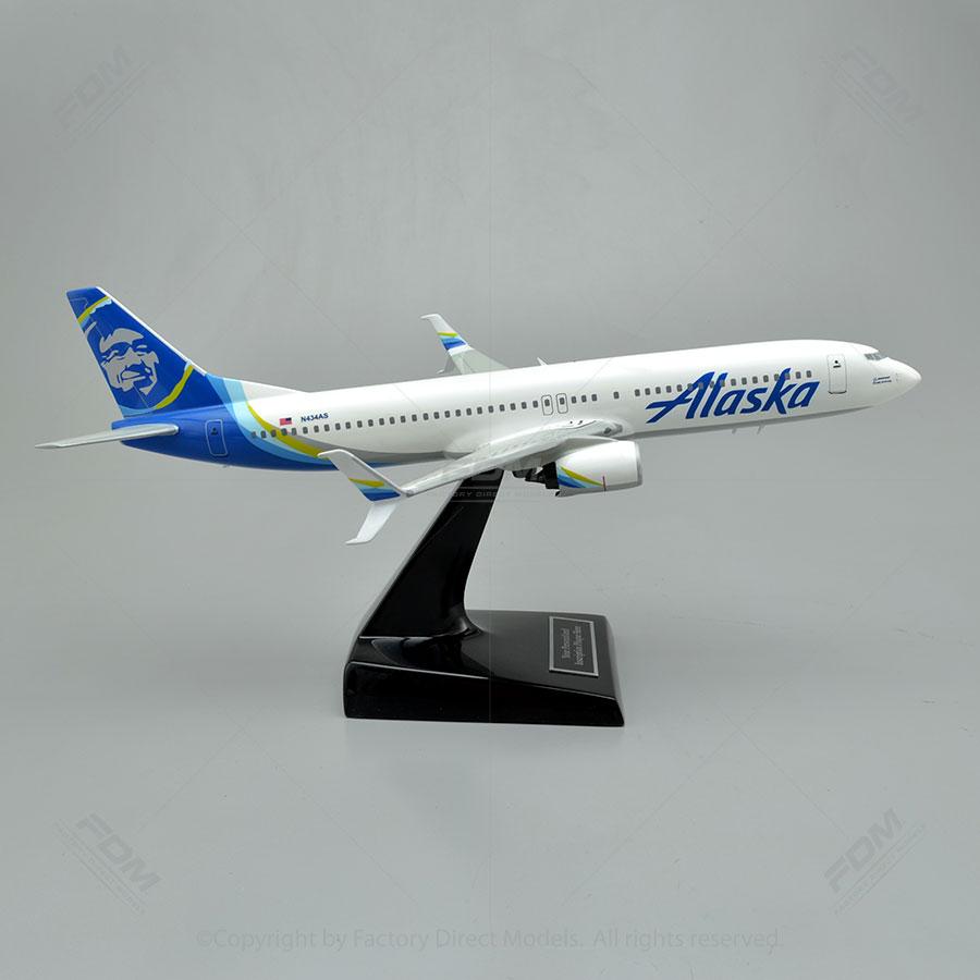 Boeing 737 900 Alaska Airlines Model Airplane Factory