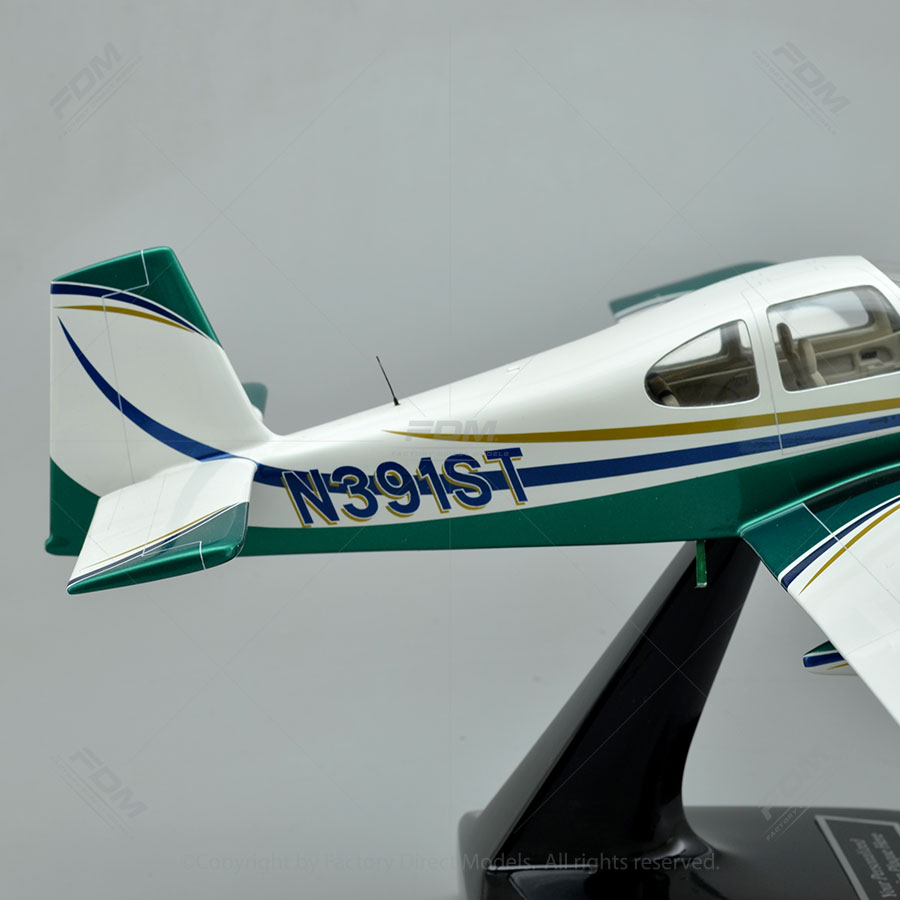 Van S Aircraft Rv 10 Model Airplane With Detailed Interior