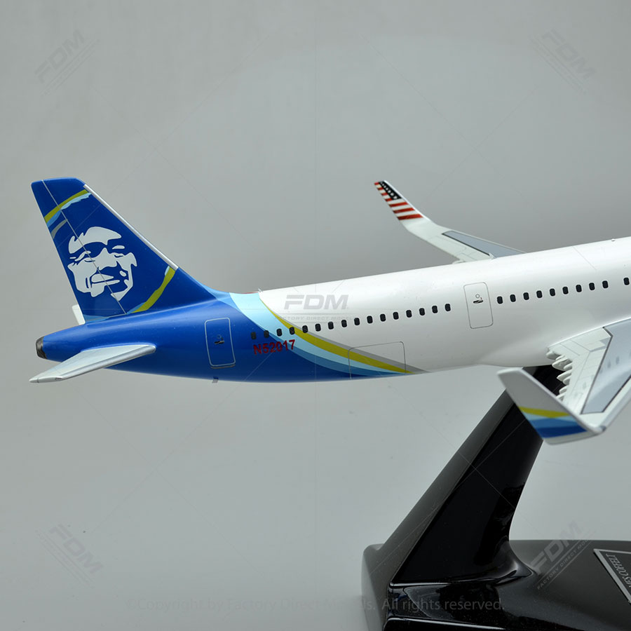 Airbus A321 200 Custom Wooden Model Airplane Factory