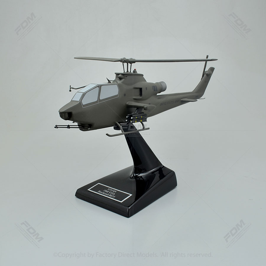 Bell AH-1 Cobra US ARMY Model Helicopter