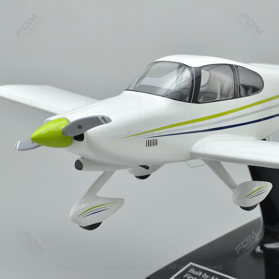 Custom Vans Aircraft Rv 10 Model Airplane With Detailed Interior