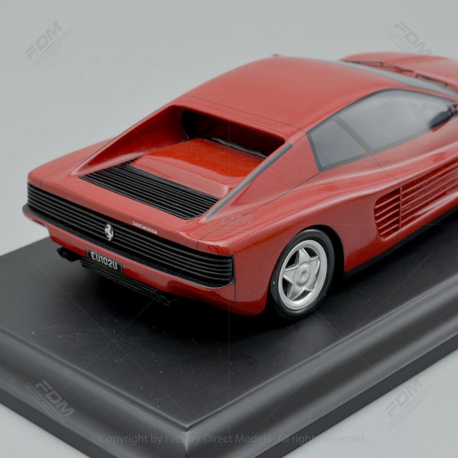 Ferrari Testarossa: 1991 Ferrari Testarossa Model Car