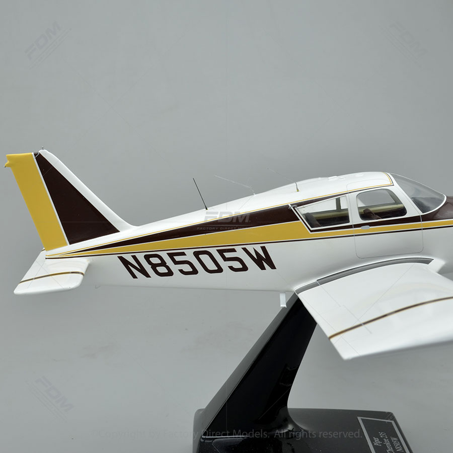 Custom Made Piper PA-28-235 Model Airplane | Factory Direct