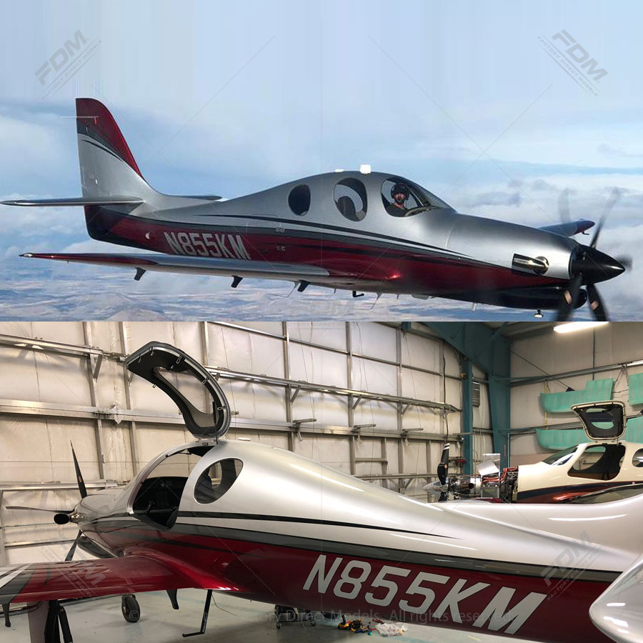 Lancair Evolution Airplane