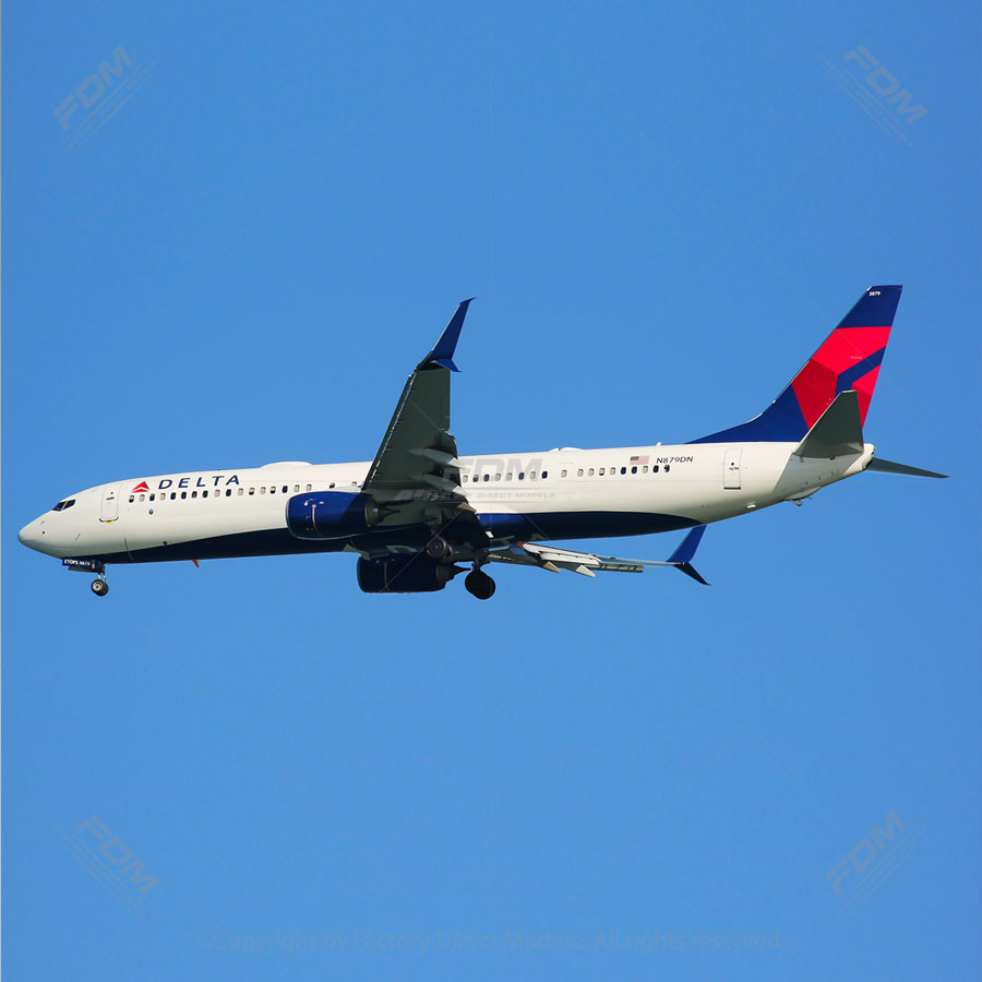 Boeing 737-900 Delta Airlines Airplane