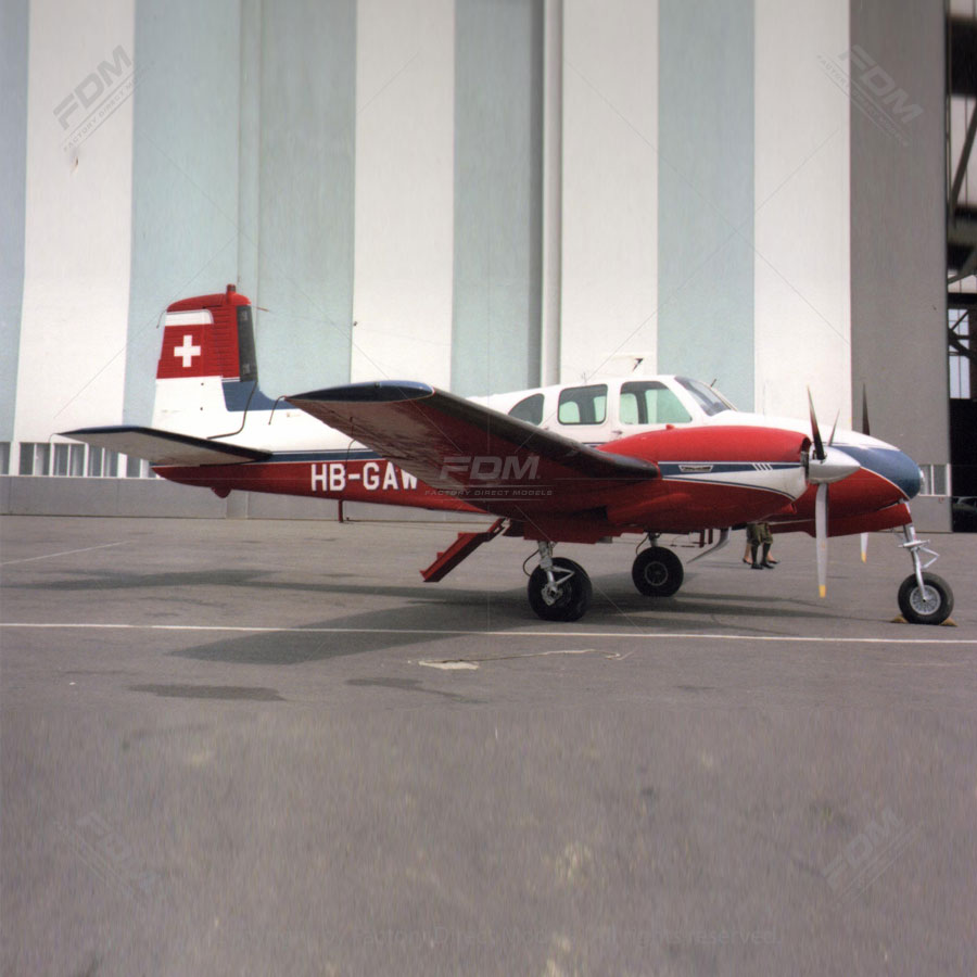 Beechcraft G50 Twin Bonanza Airplane