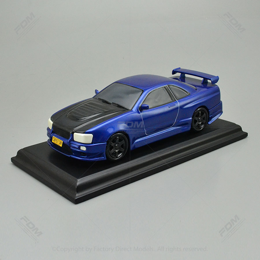 Car Factory Direct >> 1998 Nissan R34 Skyline Model Car Factory Direct Models