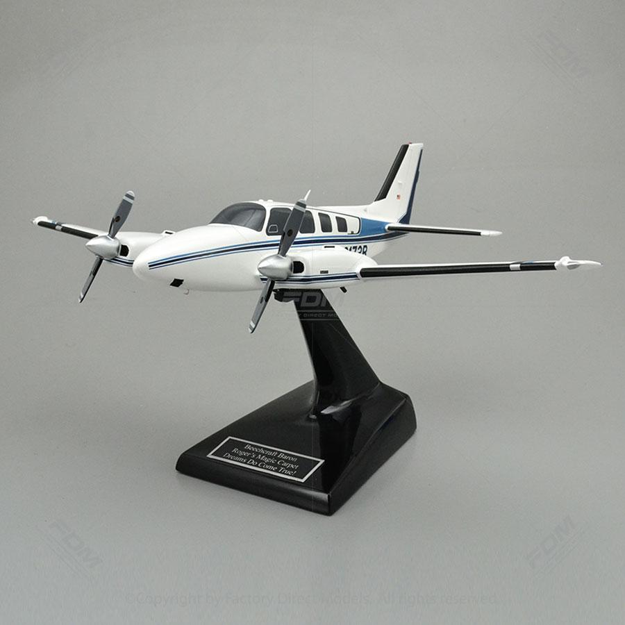 Custom Beechcraft Baron 58 Model Airplanes   Factory Direct