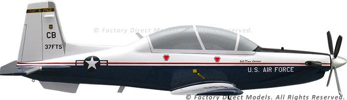Beechcraft T 6 Texan Ii Aircraft Model Factory Direct Models