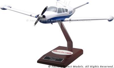 Beechcraft V-35 Bonanza V-Tail Model Airplane   Factory Direct Models
