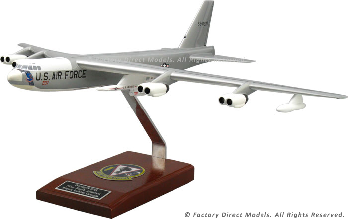 boeing b 52 stratofortress with agm 28 scale model aircraft