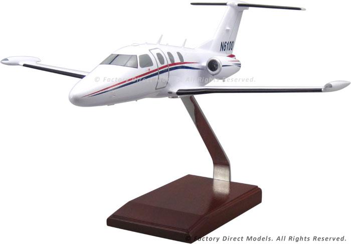 Custom Eclipse 500 Wooden Model Plane   Factory Direct