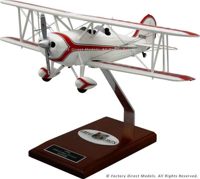 great lakes 2t sports trainer airplane model