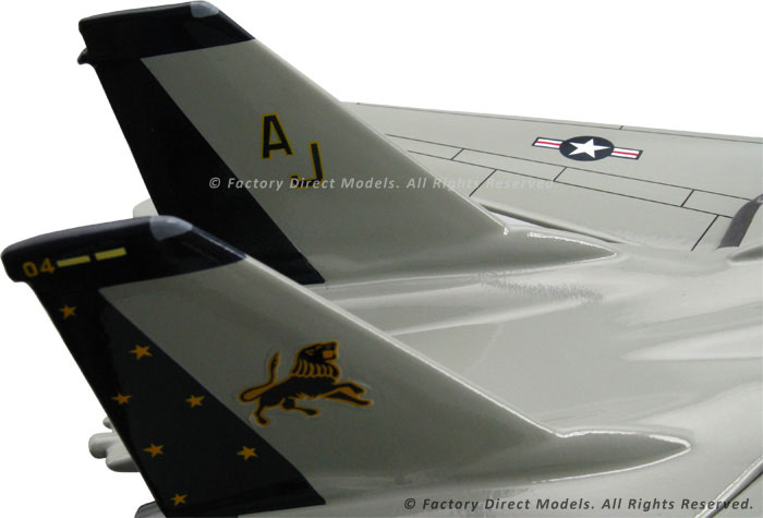 Grumman F 14 Tomcat Clear Canopy Model Airplane