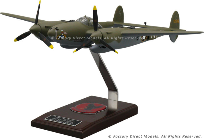 sc 1 st  Factory Direct Models & Lockheed P-38F Clear Canopy Model Airplane