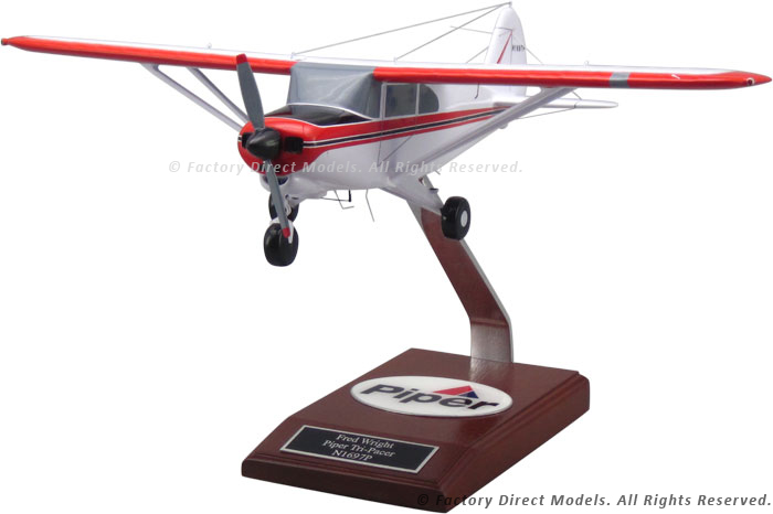 Piper PA-22 Tri-Pacer Wooden Airplane | Factory Direct Models