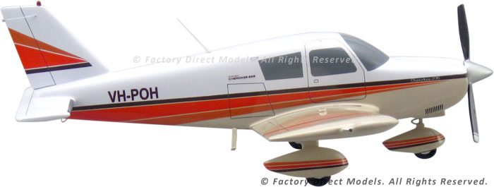Piper PA-28-235 Custom Airplane Models | Factory Direct Models