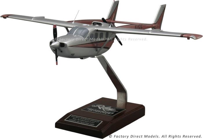 Cessna 337G Super Skymaster Riley Skyrocket P337 Scale