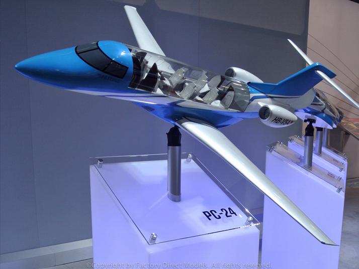 Pilatus Pc 24 Custom Model Airplane Factory Direct Models