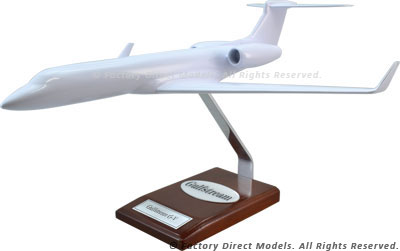 Your Custom Painted Gulfstream GV Scale Model Airplane