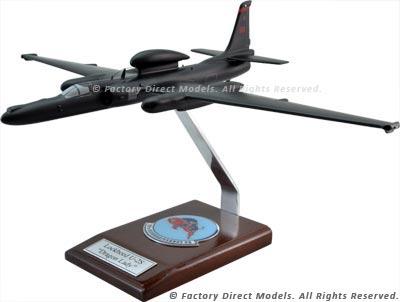 """Lockheed U-2S """"Dragon Lady"""" Scale Model Aircraft"""