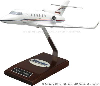 Raytheon Hawker 800XP Airplane Model