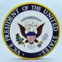 """US Vice Presidential Seal 14"""" Wall Plaque"""